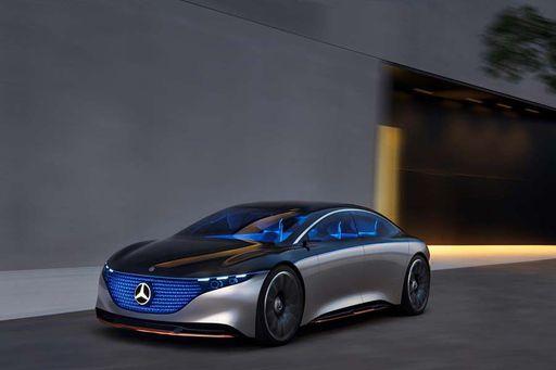 Die Luxusversion der Mercedes S-Klasse ist der Mercedes EQS.