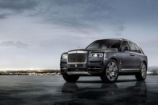 Rolls Royce Cullinan 2019 feiert auf der Vienna Autoshow Europapremiere.