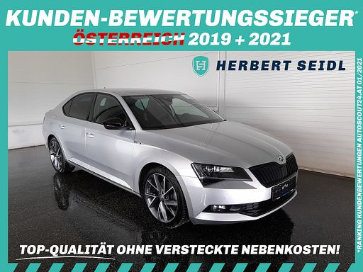 Superb  2,0 TDI 4x4 Sportline DSG *STANDHZG / ANHÄNGEVORR. / ACC*, 190 PS, 5 Türen, Automatik