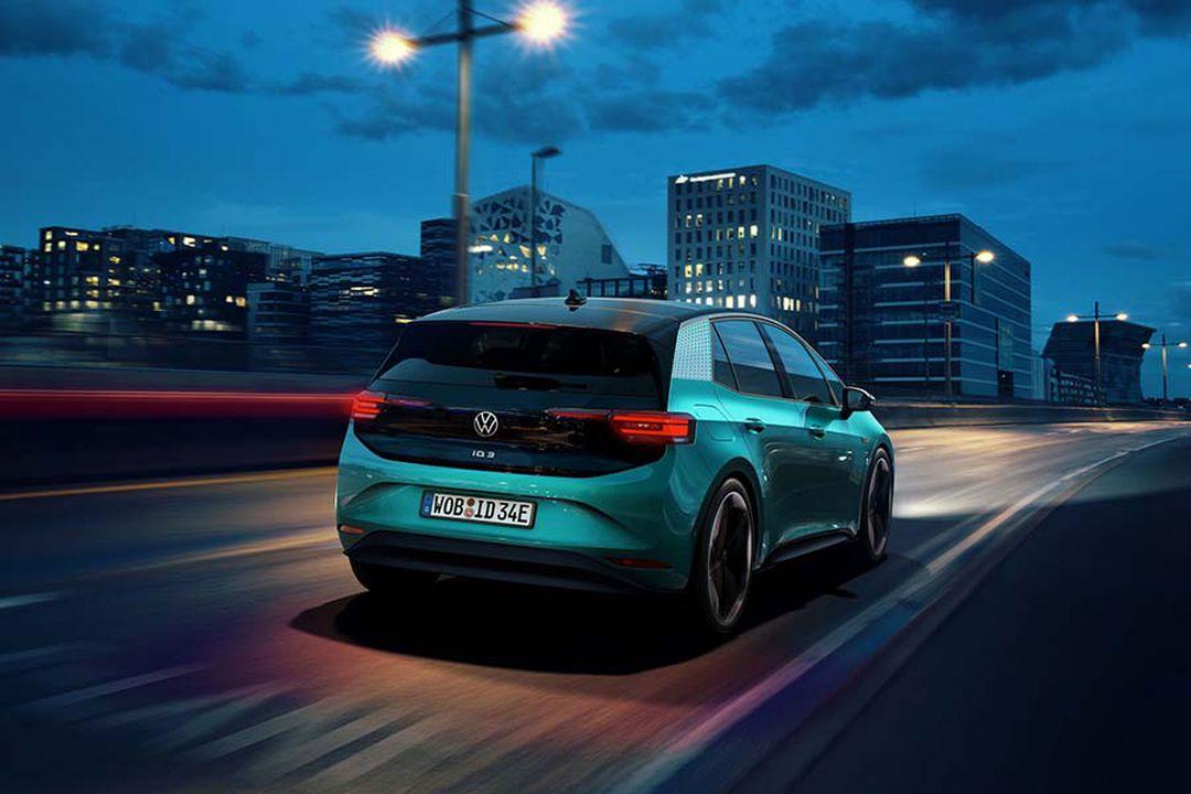 VW ID.3 Serienfahrzeug