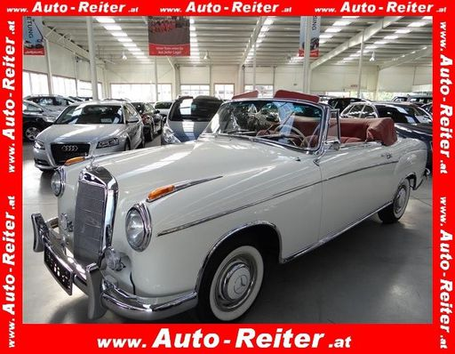 220s Ponton Cabriolet 220 s Ponton Cabrio, 101 PS, 2 Türen, Schaltgetriebe