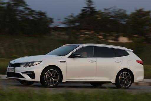 Der KIA Optima erhält ein Facelift für das neue Modelljahr.