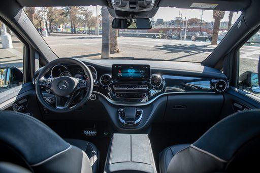 Mercedes EQV Cockpit