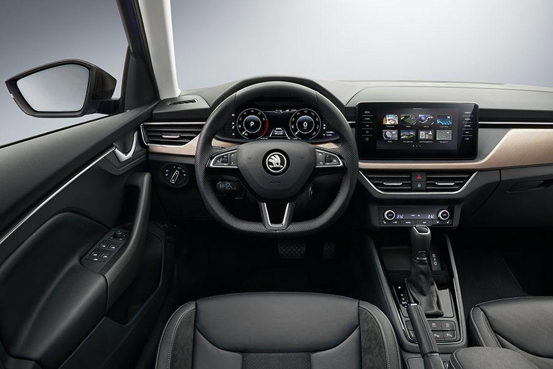 Skoda-Scala-2019-Cockpit
