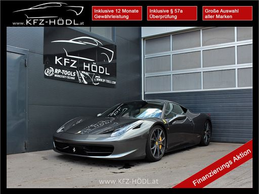 Keine Kategorie 458 Italia, 566 PS, 2 Türen, Automatik