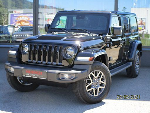 Wrangler  PHEV Unlimited, 80th Anniversary First Edition, 379 PS, 5 Türen, Automatik