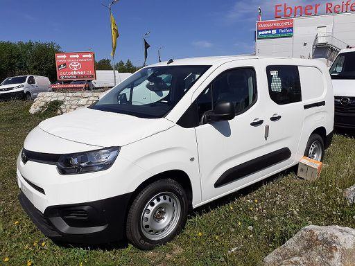 Proace Verso Pro Ace City Kastenwagen Doppelkabine 1,5 D-4D 102 L1 Basis, 102 PS, 4 Türen, Schaltgetriebe