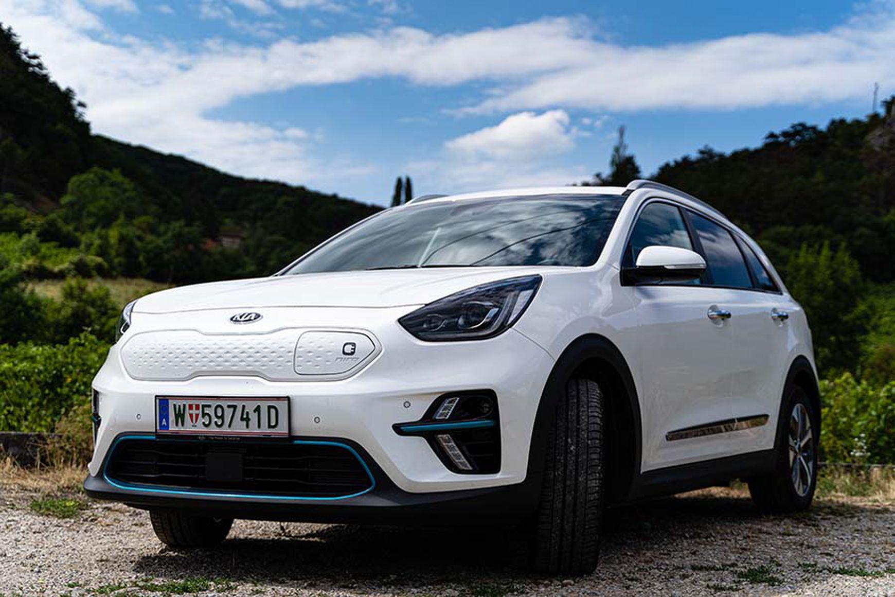 Der KIA e-Niro ist das beliebteste Elektroauto in Österreich 2019.