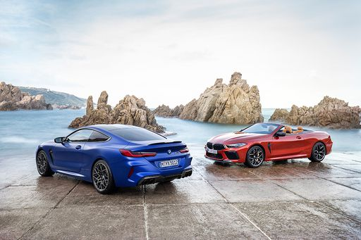 BMW M8 Coupé und Cabriolet