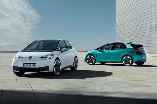 Der VW ID.3 ist um 12 Zentimeter höher als der VW Golf.
