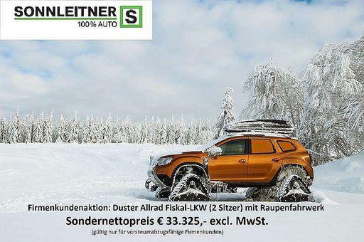 Duster  Fiskal Essential dCi 115 4WD RAUPENFAHRWERK, 116 PS, 5 Türen, Schaltgetriebe