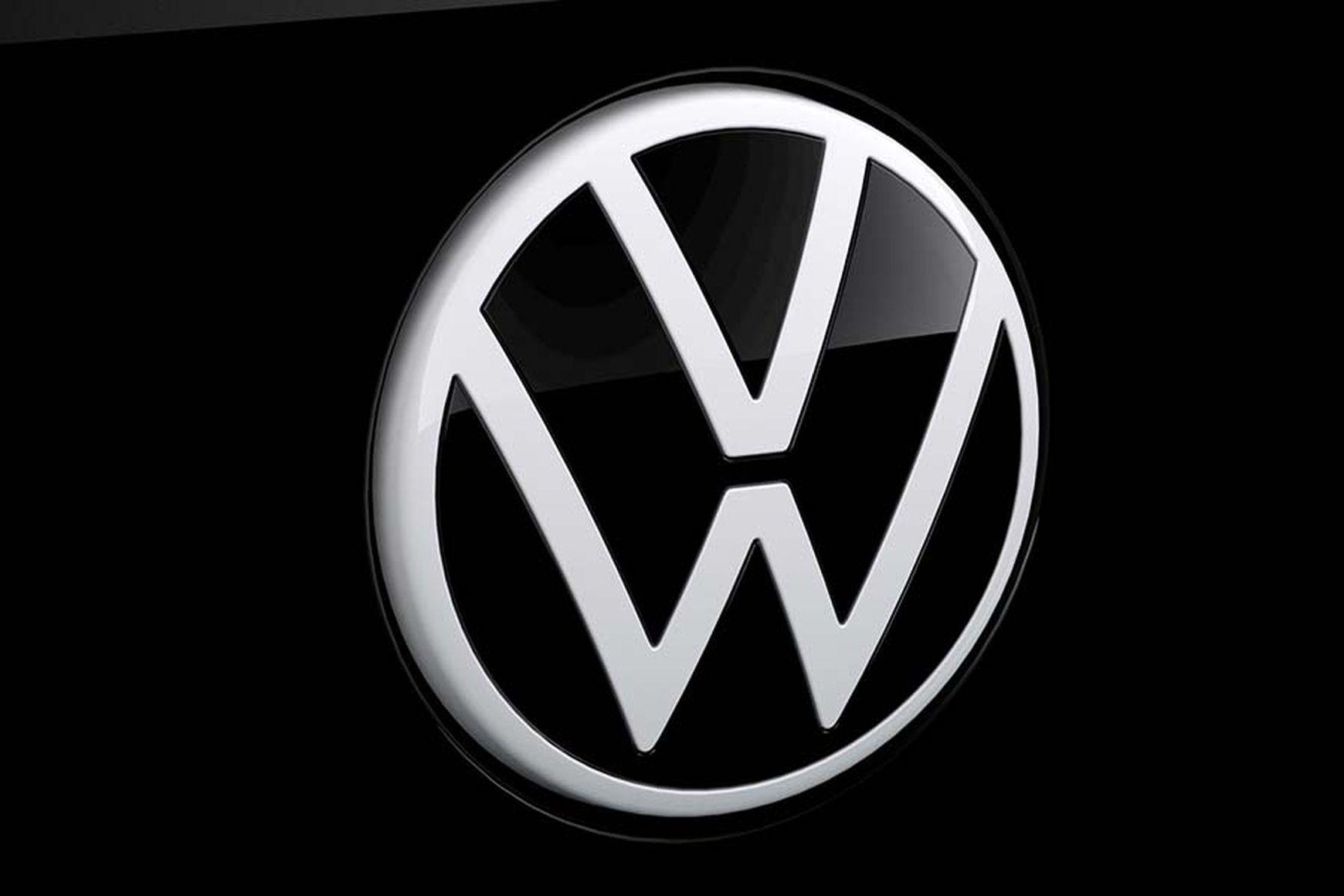 Das ist das neue VW Logo.