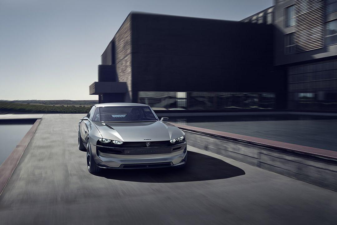 Peugeot e-Legend mehr Fotos