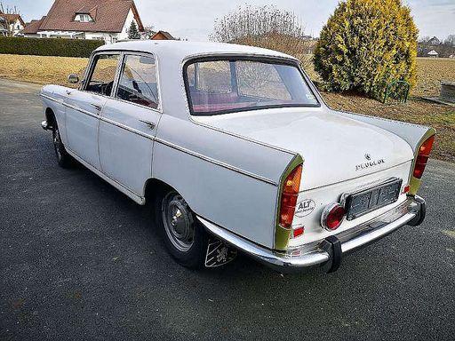 404  Limousine, 73 PS, 4 Türen, Schaltgetriebe