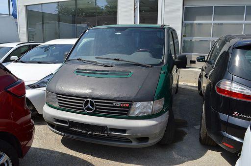 Vito  112 D Kombi CDI, 122 PS, 4 Türen, Schaltgetriebe
