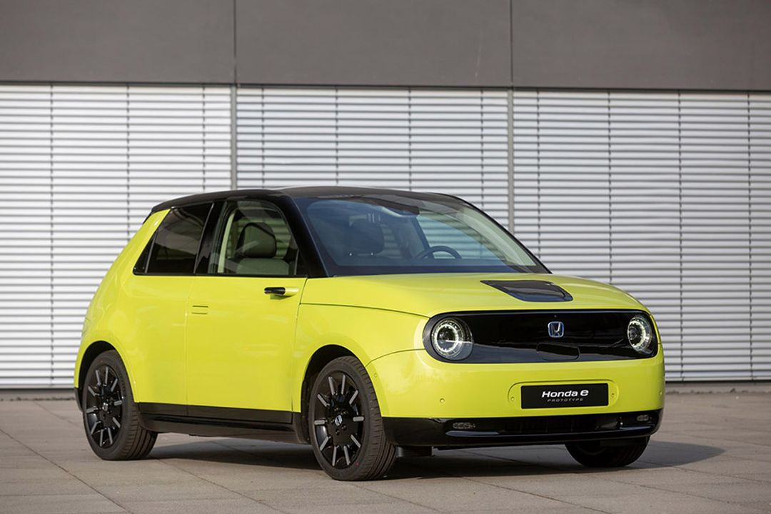Honda e Elektroauto Design