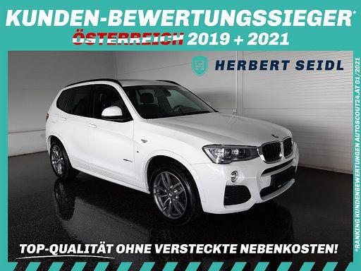 X3  xDrive 20d M Sport Aut. *ANHÄNGEVORR. / PANORAMADACH / NAVI*, 190 PS, 5 Türen, Automatik