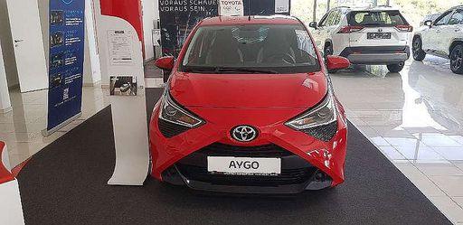 Aygo  1,0 VVT-i x-play, 72 PS, 5 Türen, Schaltgetriebe