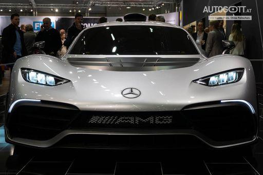 Der Mercedes AMG One war eines der Highlights der Vienna Autoshow 2019.