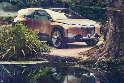 2021 kommt der neue BMW iNext auf den Markt.