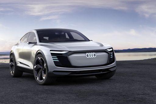 Der neue Audi etron Sportback kommt 2020 auf den Markt.