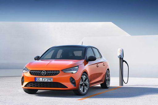 Opel-Corsa-e-Ladestation