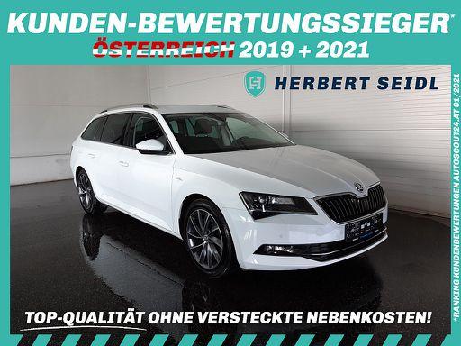 Superb Combi Superb Kombi 2,0 TDI Laurin & Klement *STANDHZG/ ANHÄNGEVORR / NAVI*, 190 PS, 5 Türen, Schaltgetriebe